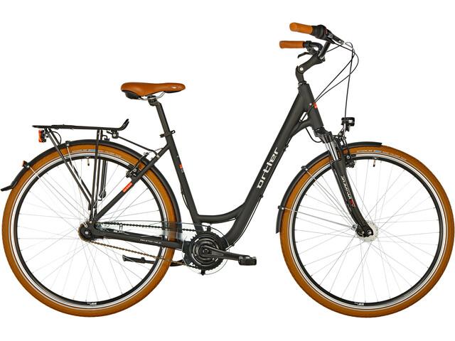 ortler degoya city bike black at. Black Bedroom Furniture Sets. Home Design Ideas